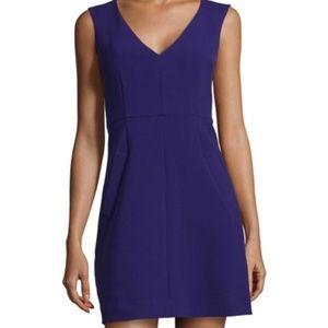 Diane Von Furstenberg Halle Dress Purple